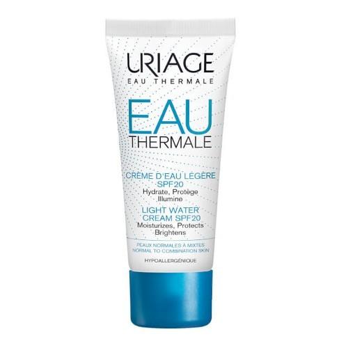 Uriage Lehký hydratační krém SPF 20 Eau Thermale (Light Water Cream) 40 ml