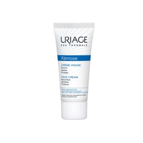 Uriage Vyživujúci pleťový krém na suchú a atopickú pokožku Xémose (Nourishing Face Cream) 40 ml
