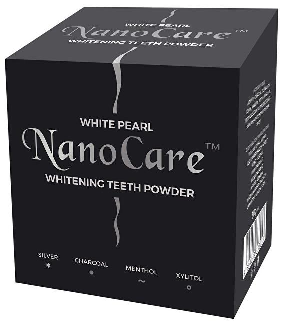 Fotografie VitalCare Bělicí pudr na zuby s nano technologií (Whitening Teeth Powder) 30 g