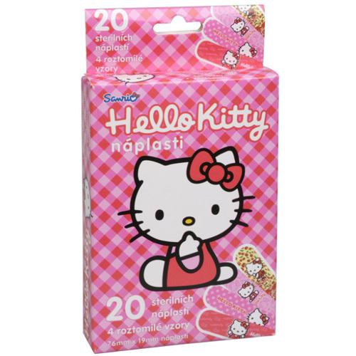 VitalCare Dětské náplasti Hello Kitty 20 ks