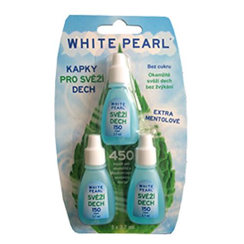 Fotografie VitalCare Kapky pro svěží dech White Pearl 3 x 3,7 ml