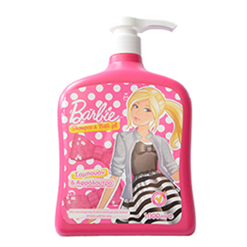 Šampon a sprchový gel Barbie 1000 ml