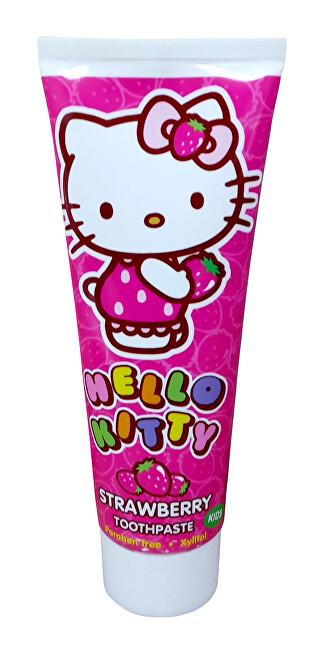 VitalCare Zubní pasta - gel s jahodou příchutí Hello Kitty 75 ml