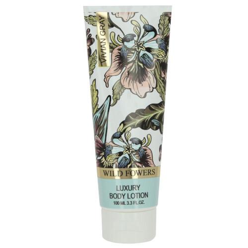 Vivian Gray Hydratační tělové mléko Wild Flowers (Luxury Body Lotion) 100 ml
