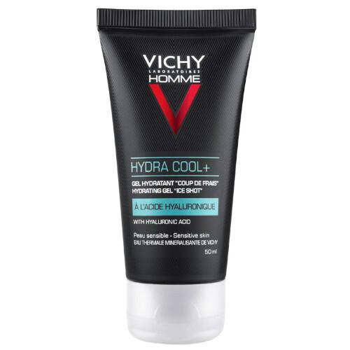 Vichy Hydratačný pleťový gél s chladivým účinkom Homme Hydra Cool + (Hydrating Gel Ice Shot) 50 ml