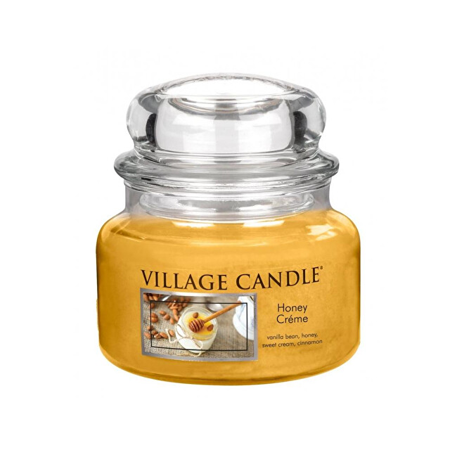 Village Candle Vonná svíčka ve skle Sladký med (Honey Créme) 269 g
