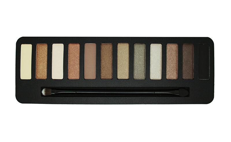 W7 Cosmetics Paletka očných tieňov Colour Me Buff (Eye Colour Palette) 15,6 g