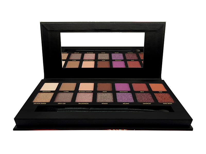 W7 Cosmetics Paletka očných tieňov Dusk Till Dawn (Eye Colour Palette) 9,6 g