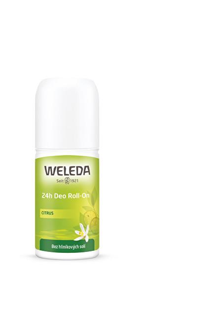 Weleda Kuličkový deodorant Citrus 24H (Deo Roll-On) 50 ml