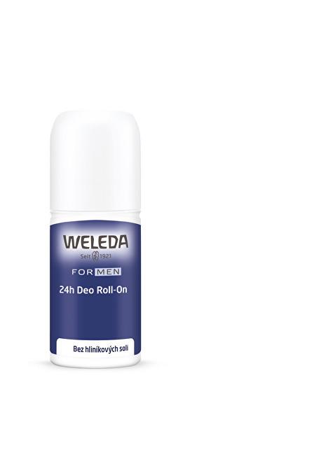 Weleda Kuličkový deodorant Men 24H (Deo Roll-On) 50 ml