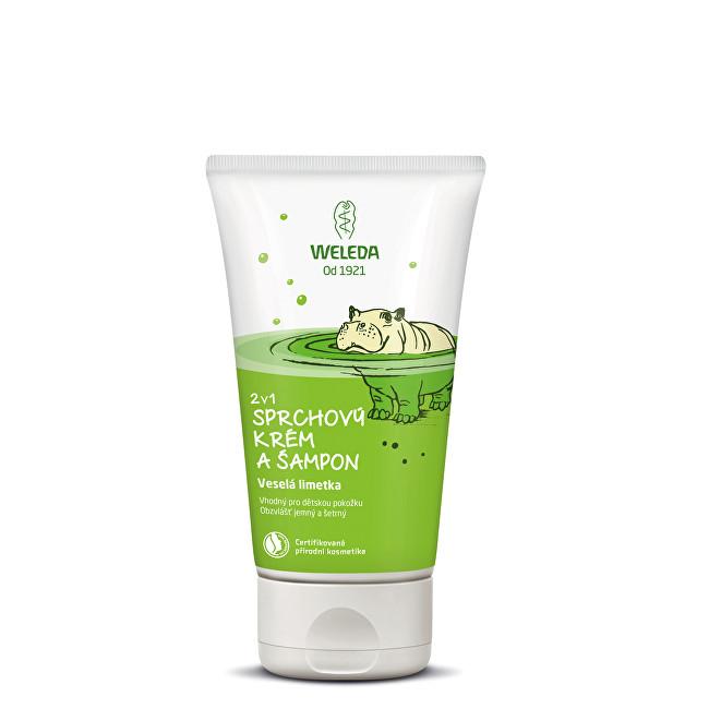 Weleda Sprchový krém a šampón 2 v 1 Veselá limetka 150 ml