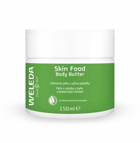 Weleda Tělové mléko s bambuckým máslem (Skin Food Body Butter) 150 ml - SLEVA - poškozená krabička