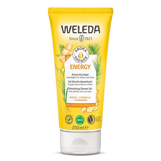 Weleda Stimulačný sprchový gél Aroma Shower Energy (Stimulating Shower Gel) 200 ml