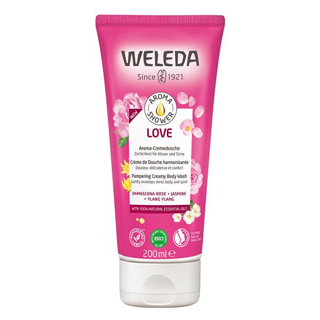 Weleda Rozmazlující sprchový krém Aroma Shower Love (Pampering Creamy Body Wash) 200 ml