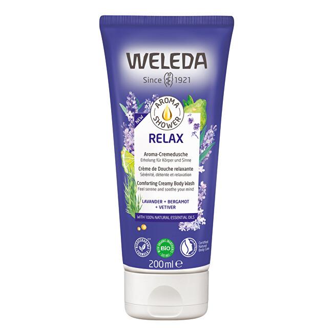 Weleda Zklidňující sprchový krém Aroma Shower Relax (Comforting Creamy Body Wash) 200 ml