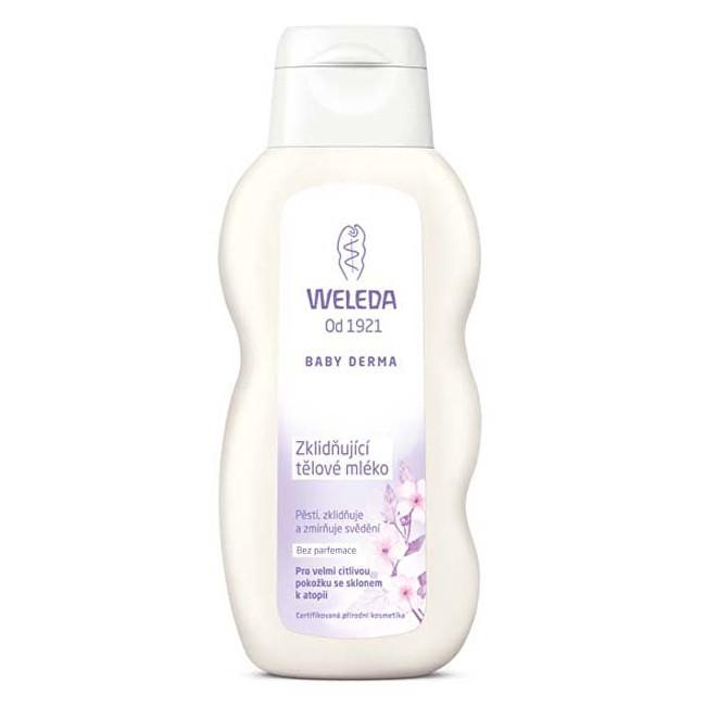 Weleda Zklidňující tělové mléko Baby Derma 200 ml