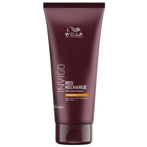 Levně Wella Professionals Kondicionér pro oživení teplých červených odstínů vlasů Invigo Red Recharge (Color Refreshing Conditioner) 200 ml