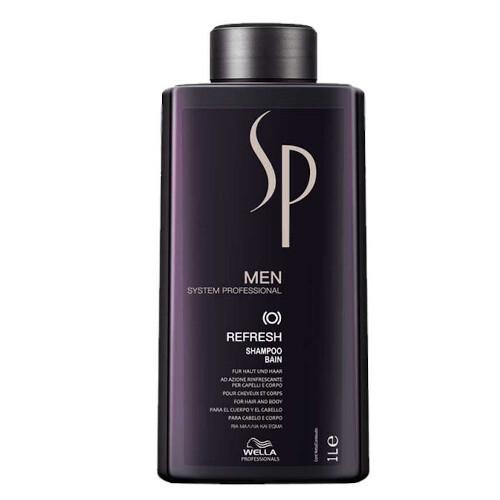 Wella Professionals Osviežujúci šampón na vlasy a telo pre mužov SP Men (Refresh Shampoo) 1000 ml