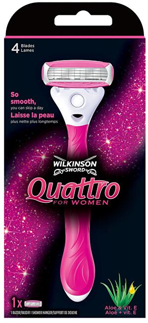 Wilkinson Sword Holiaci strojček pre ženy Wilkinson Quattro for Women