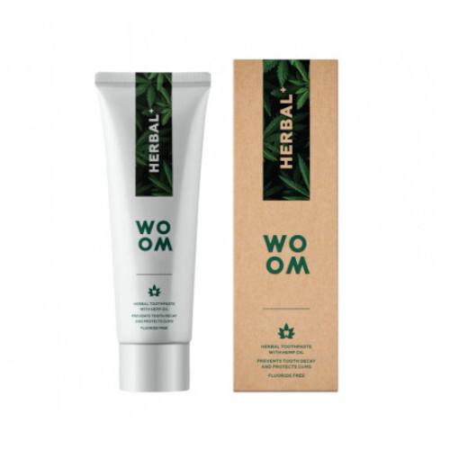 WOOM Zubní pasta s konopím (Toothpaste HERBAL) 75 ml