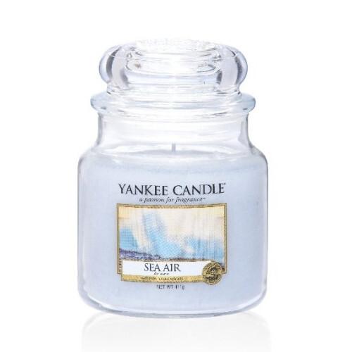 Yankee Candle Aromatická svíčka Classic střední Sea Air 411 g