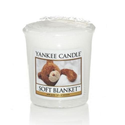 Yankee Candle Aromatická votivní svíčka Soft Blanket 49 g