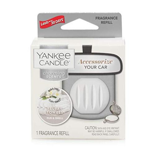 Yankee Candle Vôňa do auta Fluffy Towels - náhradná náplň 1 ks