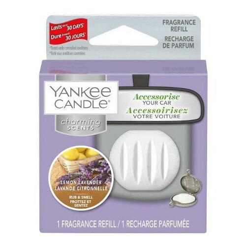 Yankee Candle Vôňa do auta Lemon Lavender - náhradná náplň 1 ks