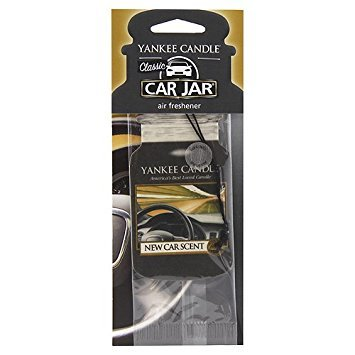 Yankee Candle Papírová visačka do auta New Car Scent 1 ks