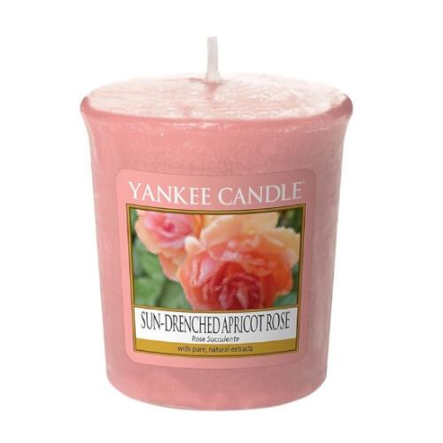 Yankee Candle Aromatická votívny sviečka Sun-Drenched Apricot Rose 49 g