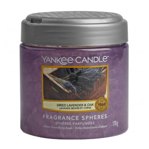 Yankee Candle Vonné perly Dried Lavender & Oak 170 g