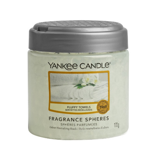 Yankee Candle Vonné perly Fluffy Towels 170 g