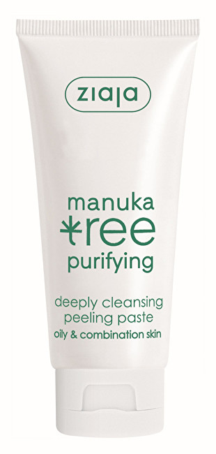 Ziaja Peelingová pasta hlboko čistiace Manuka Tree Purifying 75 ml