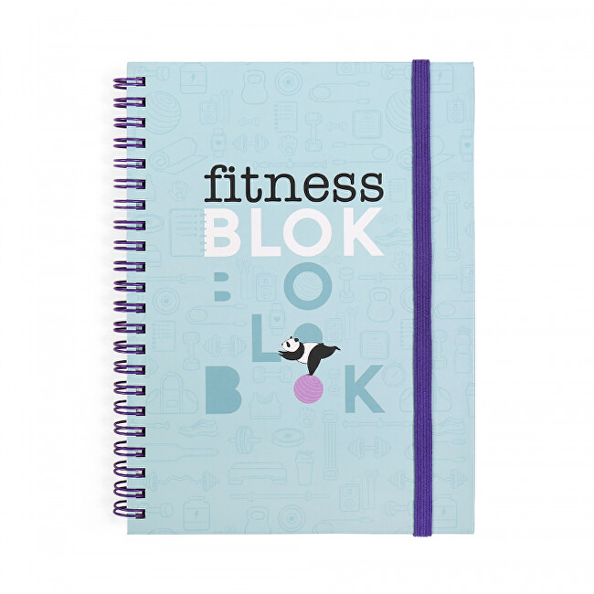 Albi Motivačný blok - Fitness blok 33137