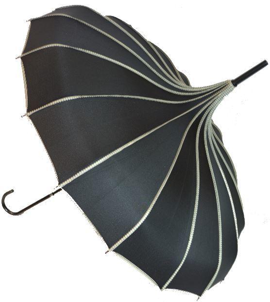 Blooming Brollies Dámský holový deštník BCSRPBL