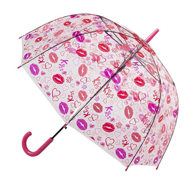 Blooming Brollies Dámský průhledný holový deštník POESLIP