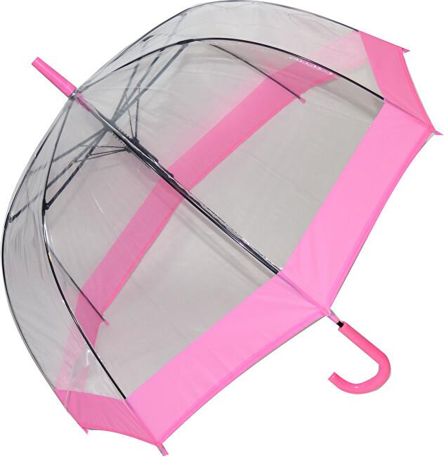 Blooming Brollies Dámský průhledný holový deštník EDSCDP