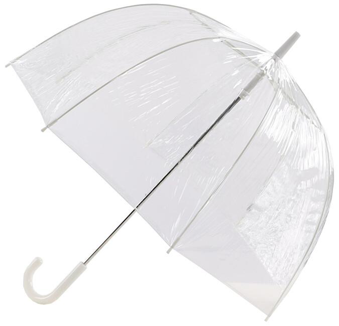 Blooming Brollies Dámský průhledný holový deštník EDBCPL