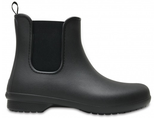 Crocs Dámske gumáky Crocs Freesail Chelsea Boot W Black/Black 204630-060 34-35