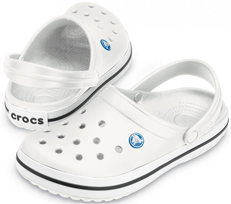 Crocs Pantofle Crocband White 11016-100 37-38