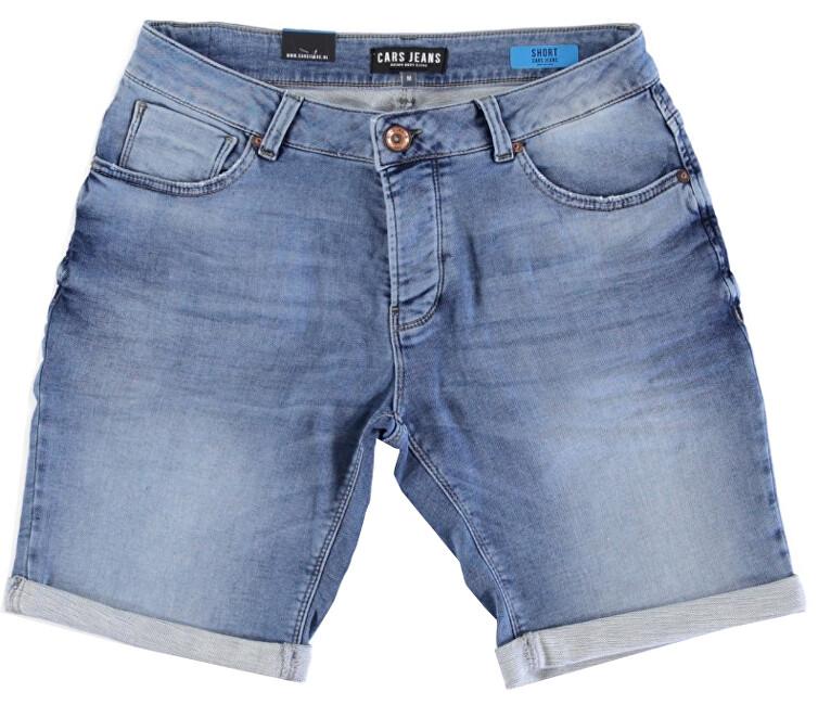 Cars Jeans Pánske kraťasy Atlanta Denim Stone Used 4336706 M