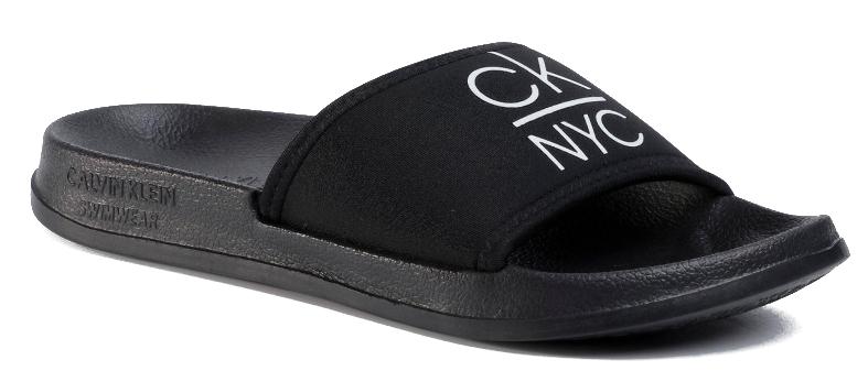 Calvin Klein Dámske šľapky Slide KW0KW01054 -beh PVH Black 41-42