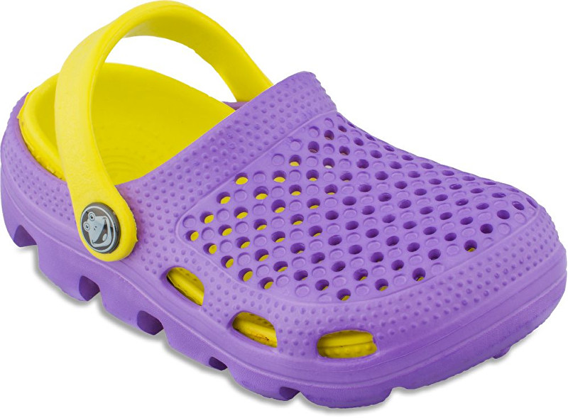 Coqui Saboti Copii Bugy 6101 Lila/yellow 100175 30-31