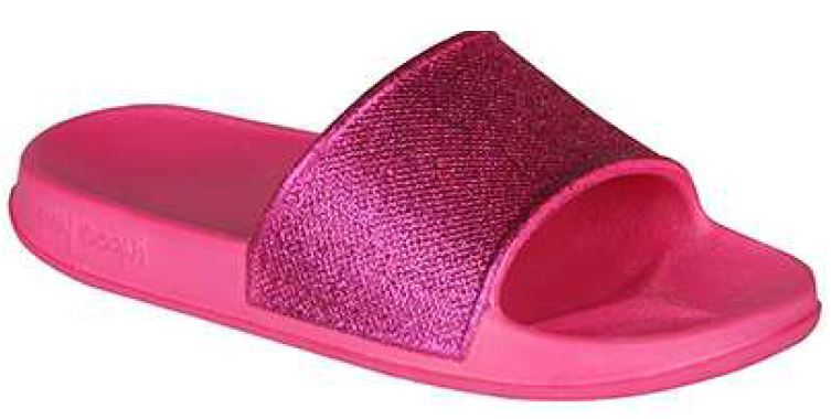 Coqui Detské papuče Tora Lt. Fuchsia Glitter 7083-305-3600 28-29
