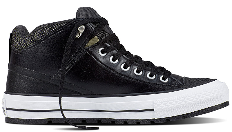 Converse Tenisky Chuck Taylor AS Street Boot Black/Storm Wind/White 43