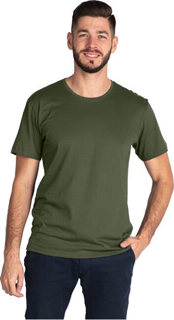 CityZen Pánske tričko khaki 470-701 XXL