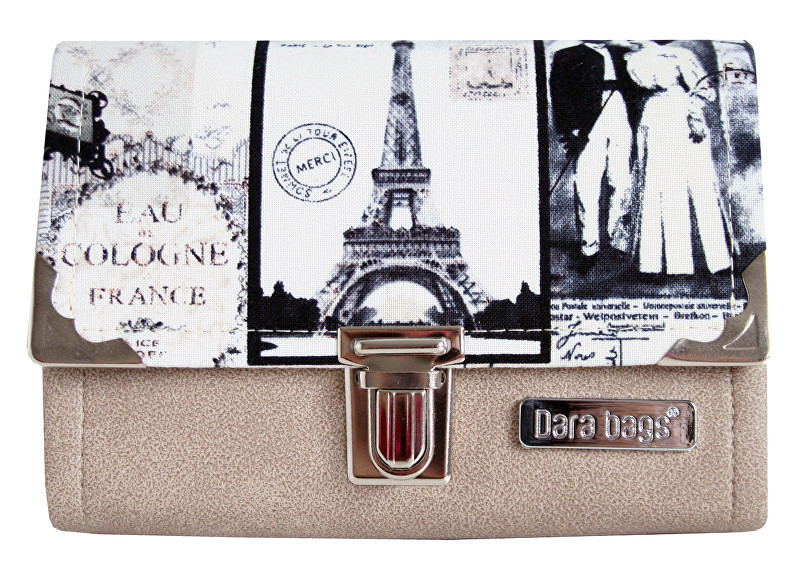 Dara bags Peněženka Third Line Purse No. 287 I love Paris