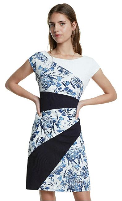 Desigual Dámske šaty Vest Detroit Marino 20SWVK92 5001 L