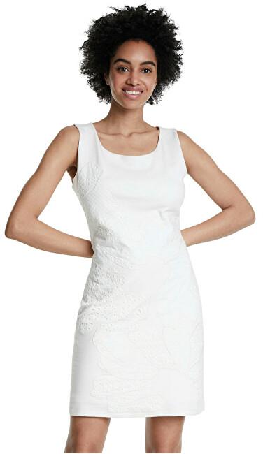 Desigual Dámske šaty Vest Houston Blanco 20SWVK56 1000 L