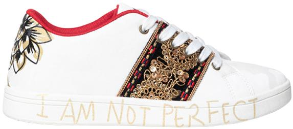 Desigual Dámske tenisky Shoes Cosmic India 20WSKP03 1000 36